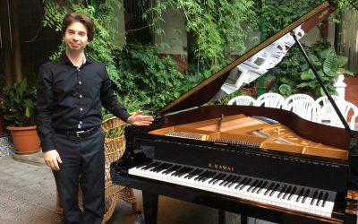 Piano recital in La Encarnación, Spain