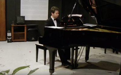 Radio premiere of Pepe Pagán's Waltz