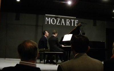David plays in Mozarte, Ecuador