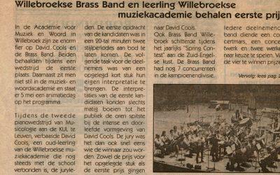 Musicologica Piano competition, Leuven, Belgium – 2001