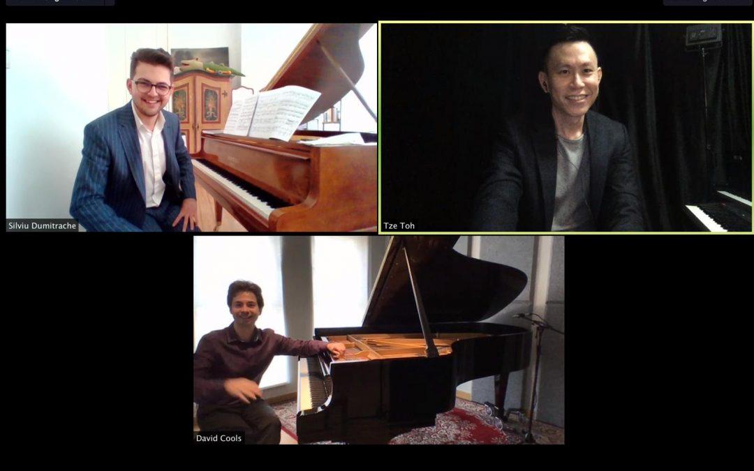 One World . 3 Pianos . Transcendence