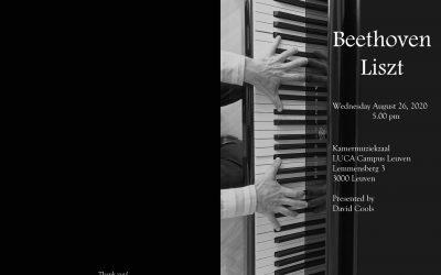 David plays Beethoven & Liszt